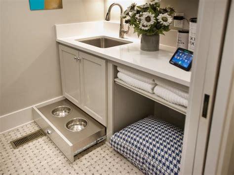 puppy room room transitional laundry room hgtv