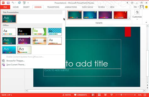 powerpoint 2013 create template 5 tips to choose best powerpoint templates for