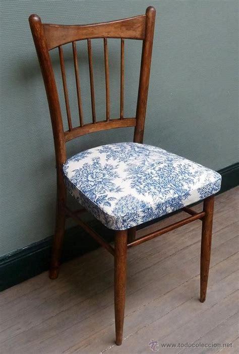 silla antigua anos   marca mocholi tapizada