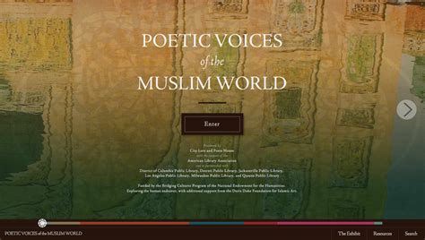 187 poetic voices of the muslim world website city lore