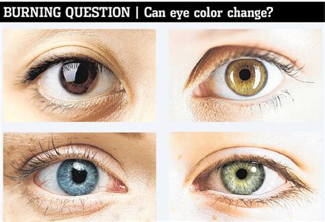 eye changing color can your change color wsj