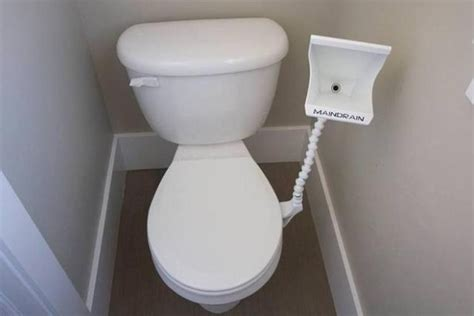 the drain a attachment for at home toilets