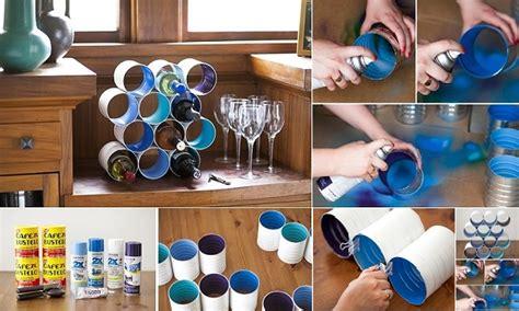 Wine Bottle Rack Diy by Wine Bottle Ideas For Garden