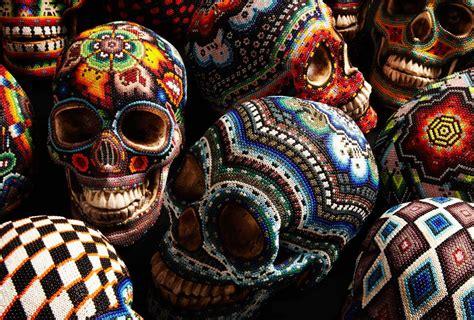 mexican beaded skulls beaded skulls skullsproject