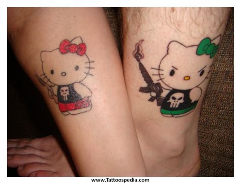 couple small tattoos couples tattoos