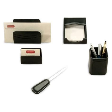 Executive Desk Accessories Executive 5 Desk Accessories Set Findgift