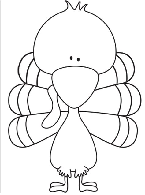 turkey trouble coloring page november book buddies smore newsletters