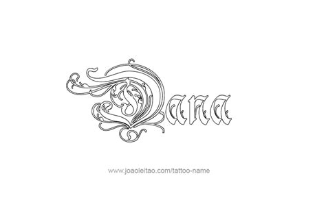 designs by dana tattoo name designs