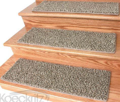 teppich treppenstufen black and 32 oz plush textured stair treads