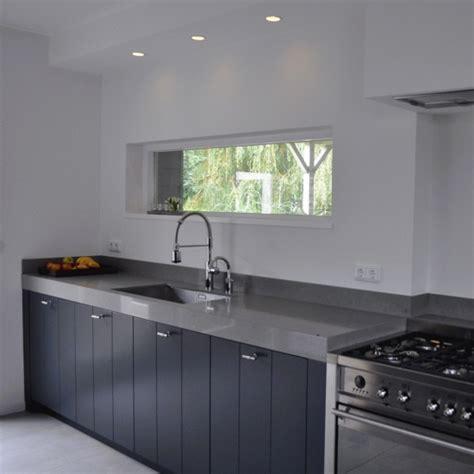 keuken antraciet antraciet keuken keukens landelijk projecten punt 57a