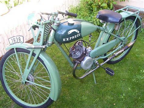 Oldtimer Motorrad Express by Express Sachs 98ccm Bauj 1939