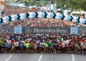 Miami Mercedes Corporate Run Mercedes Corporate 5k Run Takes Downtown Miami