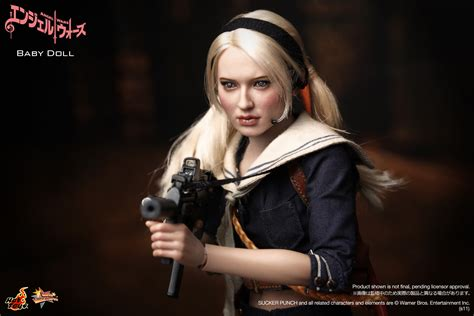 Suckerpunch Hottoys Ofc Never Display product announcement toys mms157 sucker punch 1 6th scale babydoll collectible
