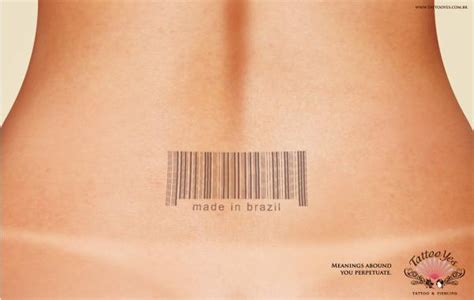 the barcode tattoo resolution barcode tattoos print ad