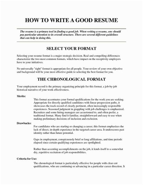 Really Good Resume Exles Oursearchworld Com Really Resume Templates