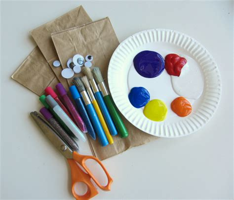 Paper Bag Fish Craft - paper bag jellyfish craft and color mixing no time