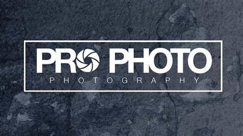 How To Design A Photography Logo Photoshop Tutorial Youtube Free Photography Logo Templates For Photoshop