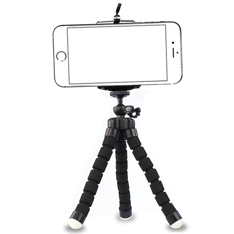 2018 phone tripod ubeesize portable and adjustable stand holder with bluetooth remote and