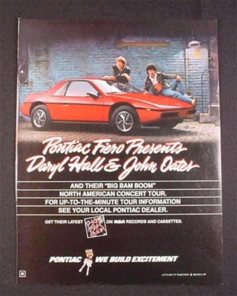 books on how cars work 1984 pontiac fiero parental controls magazine ad for pontiac fiero hall oates concert tour 1984 magazines ads and books store