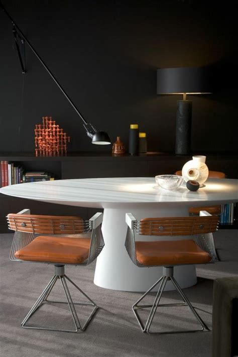 chaise cuisine design la plus originale table de cuisine ronde en 56 photos