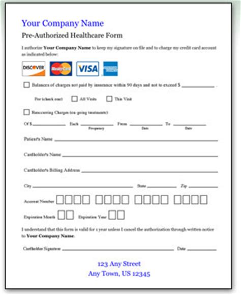 free medical billing form