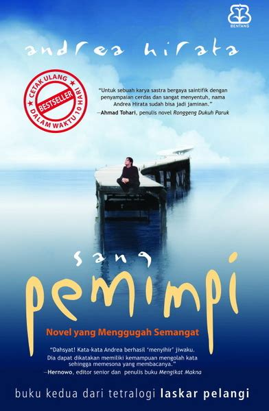 Novel Sang Pemimpi By Books Shop inspired september 2008
