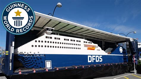 how long is the biggest boat in the world largest lego ship supported guinness world records