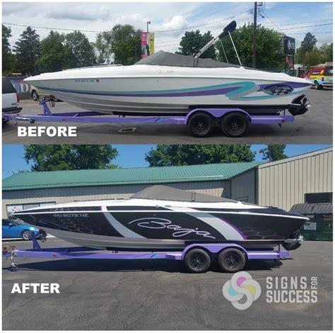 vinyl fishing boat wraps 19 best boat wraps custom vinyl images on pinterest