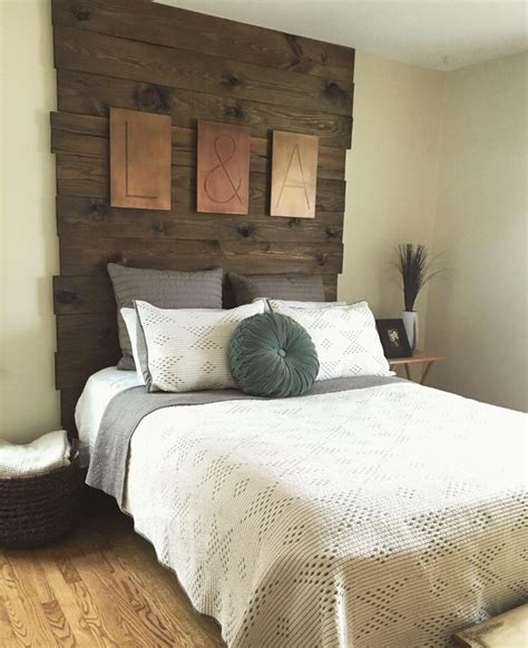 Wood Headboards Diy 25 Best Ideas About Diy Headboard Wood On Pinterest Barn Wood Headboard Rustic Headboards