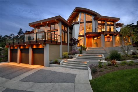 modern home design victoria bc imposing modern home in victoria british columbia