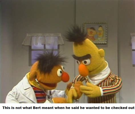 Bert And Ernie Meme - the gallery for gt bert stare