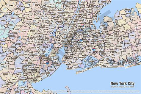 new york city zip code map search the maptechnica printable map catalog maptechnica