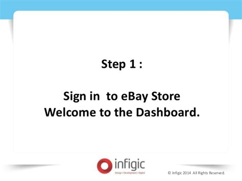 a step by step guide to set up your brand s youtube step by step guide to set up your ebay store