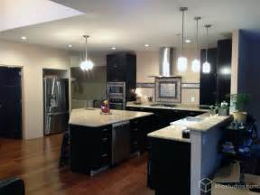 Modernize Kitchen Cabinets Black Kitchen Cabinets Modern Kitchen Richmond By Cliqstudios