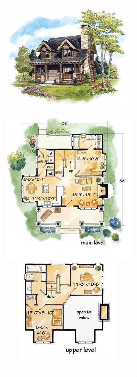 log home living floor plans log house plan 43212 total living area 1362 sq ft 2 bedrooms and 2 bathrooms loghome