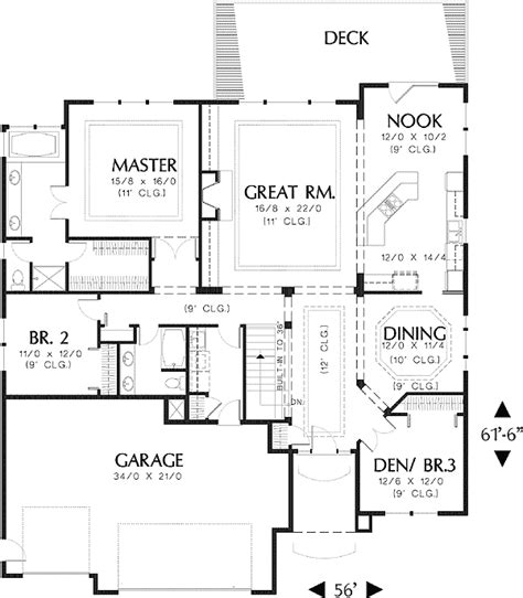 daylight basement plans contemporary with daylight basement 69024am