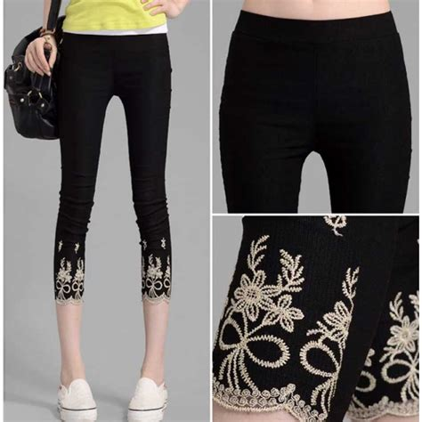 Celana T 3 celana wanita model 3 4 t1888 moro fashion