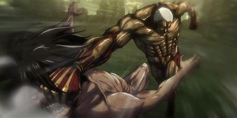 self eren from attack on titan titan form cosplay eren fights the armored titan in attack on titan inverse