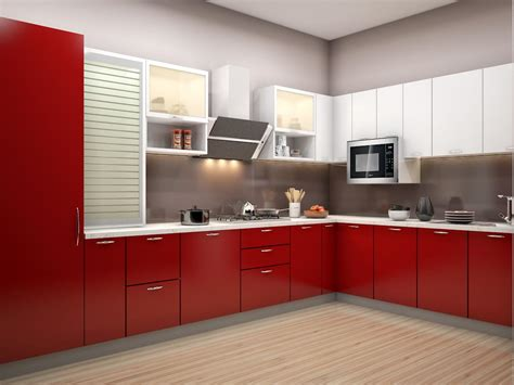 Modular Kitchen Design For Small Kitchen L Shaped ? SMITH