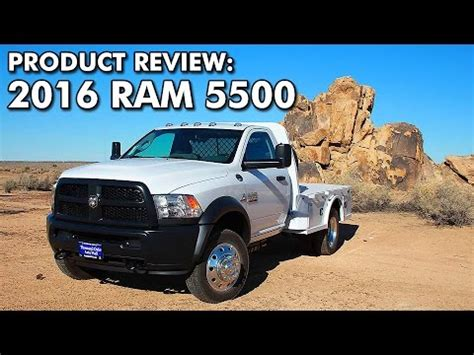 ram 5500 review product review 2016 ram 5500 tradesman