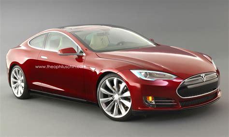 tesla model s coupe rendered looks like a winner w poll
