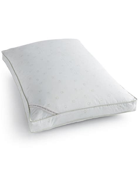 calvin klein bed pillows calvin klein tossed logo print extra firm down alternative