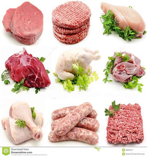 imagenes de carnes blancas y rojas diversas carnes murales imagen de archivo imagen de