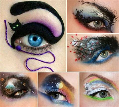 eyeshadow tutorial art cool eyeshadow designs eye make up pinterest the two