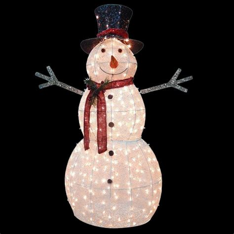 snowman decorations for the home national tree company 60 in snowman decoration with clear