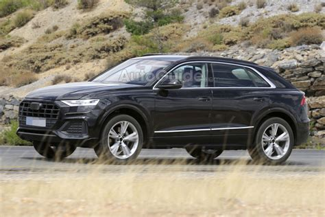 audi  spied fully exposed autoguidecom news