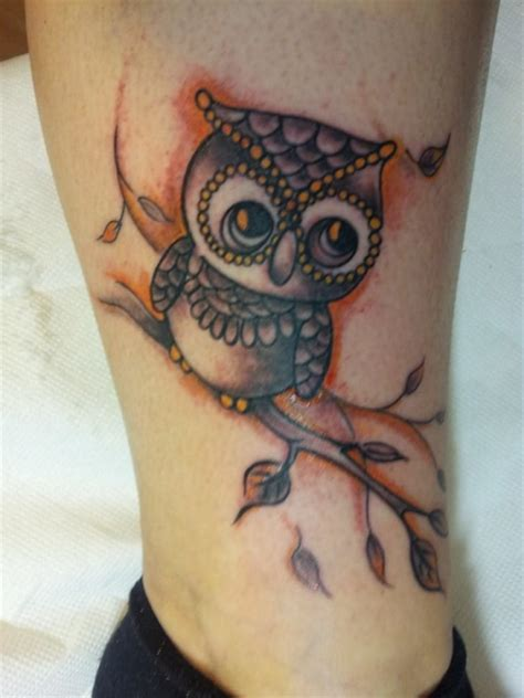 owl tattoo unterarm puma04141 eule in gedanken an meiner oma tattoos von