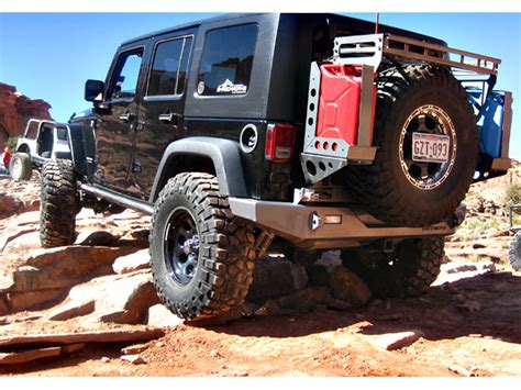 Jeep Jerry Can Shrockworks Modular Jeep Jk Tire Carrier Tire Rack Jerry
