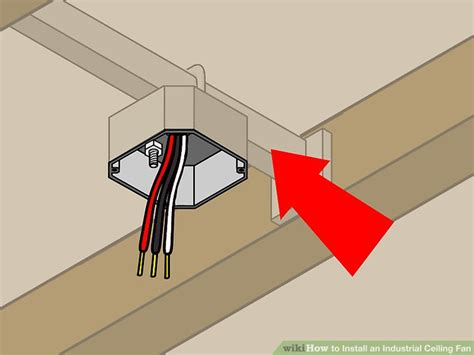 how to install a ceiling fan with light how to install an industrial ceiling fan with pictures