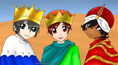imagenes los reyes magos melchor gaspar y baltasar reyes magos melchor gaspar y baltasar by nakuchan9095 on